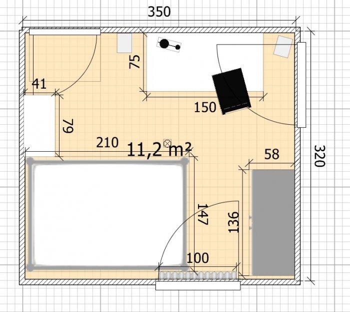 11 m² Schlaf- und Arbeitszimmer einrichten  Home Design  Forum für Wohnideen und Raumgestaltung.